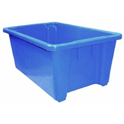 CRATE 52LT BLUE PP 645X413X276MM
