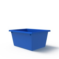 CRATE 22.7LT BLUE 430X323X210MM