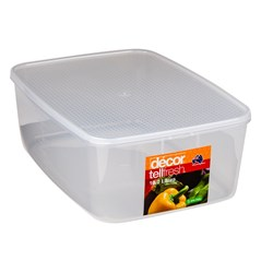 TELLFRESH OBLONG CONTAINER 10L 373X270X135MM PLASTIC (4)