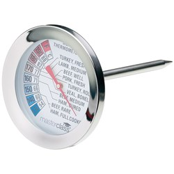 THERMOMETER MEAT DIAL S/S 50MM DIAL 150MM PROBE