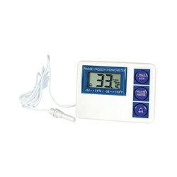 THERMOMETER FRIDGE FREEZER DIGITAL PLASTIC MIN/MAX-50+70C