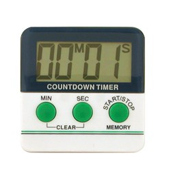 TIMER DIGITAL 99MIN 59SEC DISPLAY W48 X H20MM MAGNETIC