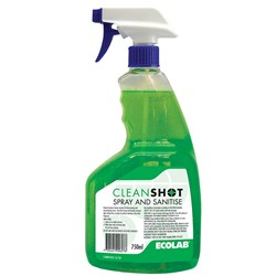 SPRAY & SANITISE 750ML CLEANSHOT (6)