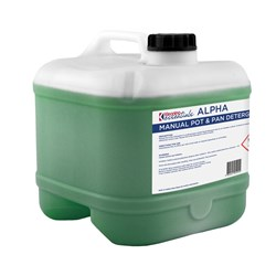 ALPHA MANUAL POT & PAN DETERGENT 15LT