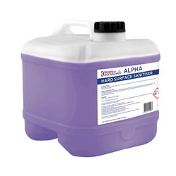 ALPHA HARD SURFACE SANITISER 15LT