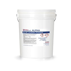 ALPHA LAUNDRY POWDER BLUE 20KG
