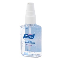 HAND SANITISER 60ML PURELL ANTISEPTIC PERSONAL PUMP (24)