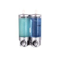 GUEST AMENITIES BULK DISPENSER 2 X 300ML 135X90X192MM