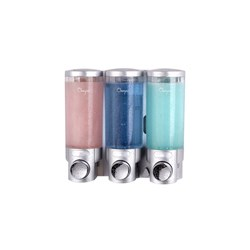 GUEST AMENITIES BULK DISPENSER 3 X 300ML 203X90X192MM