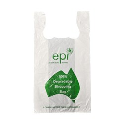 SINGLET BAG SML DEGRADABLE 250/PKT (20) 400X200+100MM