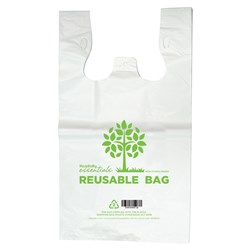 CARRY BAG SML REUSABLE PRINTED 400X200+100MM 1500/CTN