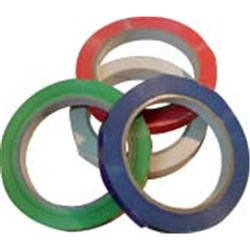 PVC BAG SEALING TAPE WHT 12MM X 66MTR (24)
