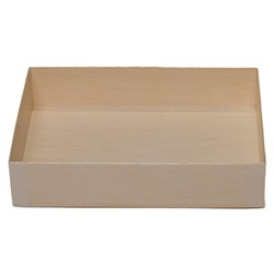 WOODEN VENEER BOX FOLD RECT 165X120X36MM 800/CTN