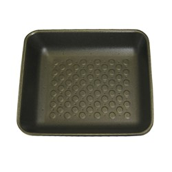 "FOAM TRAY BLACK 8X7"" 110/PKT (4)30MM DEEP OPEN CELL"