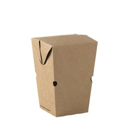 GO CHIP CARTON LARGE KRAFT 91X91X135MM 500/CTN