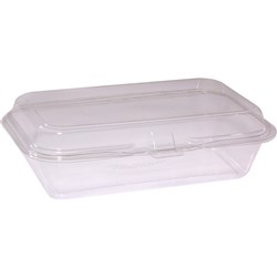 SNACK PACK CLR PLASTIC 100/PKT (3) 215X130X60MM