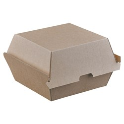 BURGER BOX ENDURA BROWN 105X102X83MM 250/CTN