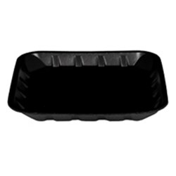 "FOAM TRAY BLACK 5X5"" 125/PKT (16) 14MM DEEP"