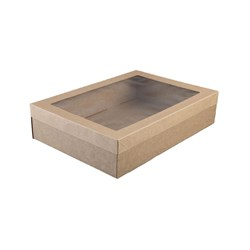 LID SUIT CATERING BOX MED 364X255X30MM 100/CTN