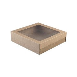 LID SUIT CATERING BOX SML 229X228X30MM 100/CTN