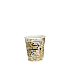 VEE INSULATED CUP 237ML PRINTED 300/CTN