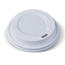BIO PLASTIC LID WHT SUIT 8OZ 240ML ECO CUP 1000/CTN