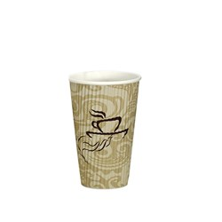 VEE INSULATED CUP 473ML PRINTED 300/CTN