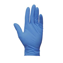 GLOVE G10 ARTIC BLUE LATEX LGE POWDER FREE 200/PKT (10)