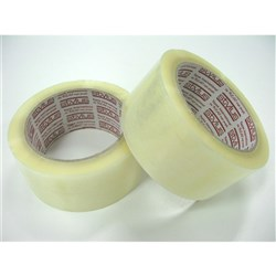 PACKAGING TAPE CLR HOT MELT 48MM X 75MT (36)