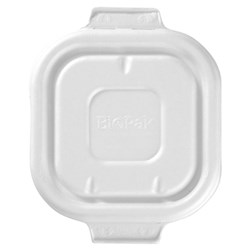 BIOCANE T/AWAY LID WHT 280-630ML 130X130MM 50/PKT(12)