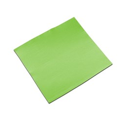 LISAH 2PLY DINNER NAPKIN QLTD GREEN APPLE 50/PKT (18)