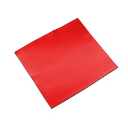 LISAH 2PLY DINNER NAPKIN QLTD RED 50/PKT (18)
