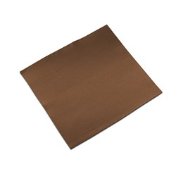 LISAH 2PLY DINNER NAPKIN QLTD CHOCOLATE 50/PKT (18)