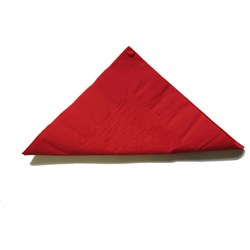 3PLY DINNER NAPKIN RED 100/PKT (5)