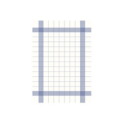 NAPKIN TOWEL BLUE CHECK 380X540MM 250/CTN