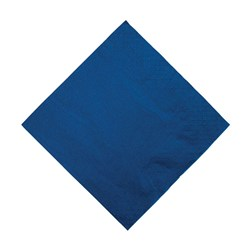 2PLY DINNER NAPKIN DARK BLUE 100/PKT (10)