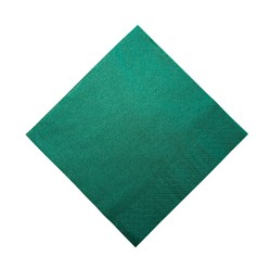 2PLY DINNER NAPKIN DARK GREEN 100/PKT (10)