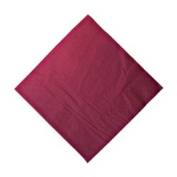 2PLY DINNER NAPKIN WINE RED 100/PKT (10)