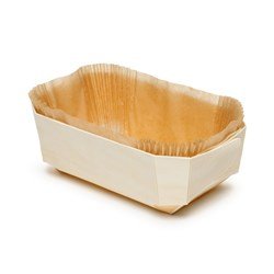PANIBOIS WOODEN MOULD DUC BIO 175X110X60MM 100/CTN