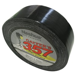 CLOTH TAPE GAFFER PREM BLK 48MM X 40MTR (24)
