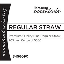 REGULAR STRAW BLUE 5000/CTN