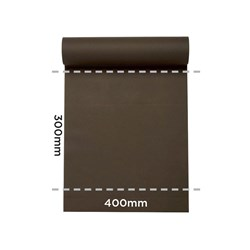 LISAH TABLE RUNNER / PLACEMAT CHOCOLATE 24MTX40CM (4)