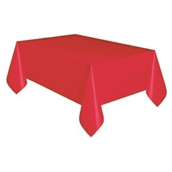 TABLECOVER PLASTIC 1.2X30M APPLE RED (4)