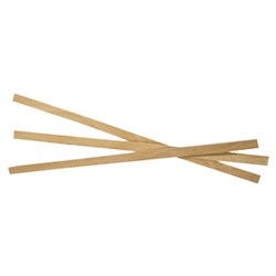 STIRRERS WOODEN 114MM 1000/PKT (10)