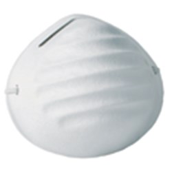 PARTICLE MASK NON TOXIC DISPOSABLE 50/PKT (20)