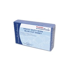 WIPES HEAVY DUTY BLUE 60 X 600MM 20/PKT (5)
