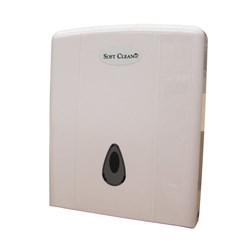 SOFT CLEAN ULTRAFOLD INTERLEAF TOWEL DISPENSER ABS PLASTIC