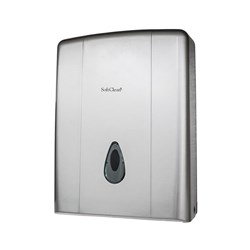ULTRAFOLD HAND TOWEL DISPENSER METALLIC GREY PLASTIC (20)