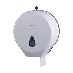 JUMBO DISPENSER WHT PLASTIC (16)