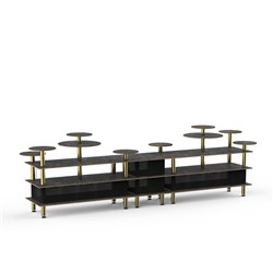 MODULAR BUFFET MULTI HEIGHT 4580X750X1375MM